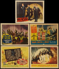 "Movie Posters:Rock and Roll, Rock Around the Clock & Others Lot (Columbia, 1956). TitleLobby Card & Lobby Cards (4) (11"" X 14""). Rock and Roll.. ...(Total: 5 Items)"