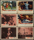 "Movie Posters:Exploitation, The Flaming Teen-Age & Other Lot (Truman Enterprises, 1956).Lobby Cards (6) (11"" X 14""). Exploitation.. ... (Total: 6 Items)"