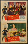 "Movie Posters:Rock and Roll, Carnival Rock (Howco, 1957). Lobby Cards (2) (11"" X 14""). Rock andRoll.. ... (Total: 2 Items)"