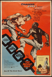 """The Defiant Ones (United Artists, 1958). Poster (40"""" X 60"""") Style Z. Drama"""