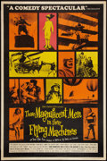 """Movie Posters:Adventure, Those Magnificent Men in Their Flying Machines (20th Century Fox,1965). Poster (40"""" X 60"""") Style Y. Adventure.. ..."""