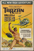 "Movie Posters:Adventure, Tarzan and the Valley of Gold (American International, 1966).Poster (40"" X 60""). Adventure.. ..."