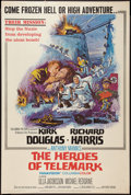 """Movie Posters:War, The Heroes of Telemark (Columbia, 1966). Poster (40"""" X 60""""). War....."""