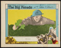 "Movie Posters:War, The Big Parade (MGM, 1925). Lobby Card (11"" X 14""). War.. ..."