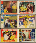 "Movie Posters:Adventure, Torrid Zone and Others Lot (Various,1940-1954). Lobby Cards (11)(11"" X 14""). Adventure.. ... (Total: 11 Items)"