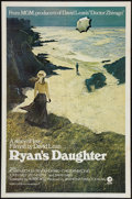 "Movie Posters:Drama, Ryan's Daughter (MGM, 1970). One Sheet (27"" X 41"") Style A. Drama....."