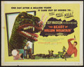 """Movie Posters:Science Fiction, The Beast of Hollow Mountain (United Artists, 1956). Title Lobby Card (11"""" X 14""""). Science Fiction.. ..."""
