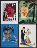 """Movie Posters:Miscellaneous, Publicity Ads (MGM, 1936-1937). Exhibitor Book Pages (12) (9.5"""" X 12.5"""") DS. Miscellaneous.. ... (Total: 12 Items)"""