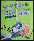"Movie Posters:Fantasy, Ali Baba and the Forty Thieves (Universal, 1944 & R-1948). Uncut Pressbooks (2) (11"" X 17"" & 14"" X 23"", Multiple Pages). Fan... (Total: 2 Items)"