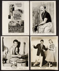 """Movie Posters:Exploitation, High School Confidential & Others Lot (MGM, 1958). Photos (5)(8"""" X 10""""). Exploitation.. ... (Total: 5 Items)"""