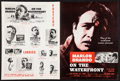 """Movie Posters:Academy Award Winners, On the Waterfront (Columbia, 1954). Uncut Pressbooks (2) & Ad Supplement (12"""" X 16"""") Multiple Pages). Academy Award Winners... (Total: 3 Items)"""