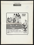 """Movie Posters:Animation, Yellow Submarine (United Artists, 1968). Pressbook (8 Pages, 13.25""""X 18""""). Animation.. ..."""