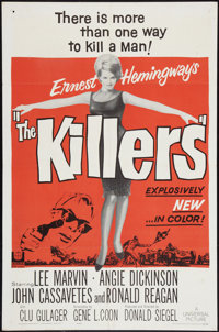 "The Killers (Universal, 1964). One Sheet (27"" X 41""). Crime"
