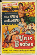 "Movie Posters:Action, The Veils of Bagdad (Universal International, 1953). One Sheet (27""X 41""). Action.. ..."