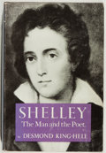 Books:Biography & Memoir, Percy Bysshe Shelley, subject. Desmond King-Hele. Shelley.Yoseloff, 1960. Very good....