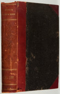 Books:Periodicals, Bound Volume of Godey's Lady's Book. Jan. to June, 1891.Contemporary half leather. Fair....