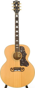 Musical Instruments:Acoustic Guitars, 1994 Gibson J-200 Natural Acoustic Guitar, Serial # 91184028....