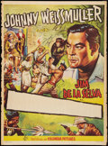 "Movie Posters:Adventure, Jungle Jim (Columbia, 1950s). Spanish Stock One Sheet (27"" X 37"").Adventure.. ..."