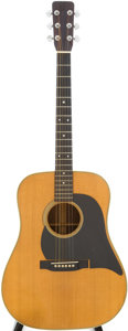 Musical Instruments:Acoustic Guitars, 1964 Martin D-28 Natural Acoustic Guitar, Serial # 199156....