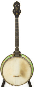 Musical Instruments:Banjos, Mandolins, & Ukes, Early 1920s Gibson TB-4 Natural 5-String Banjo, Serial # 11078A....
