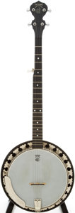 Musical Instruments:Banjos, Mandolins, & Ukes, 2000s Deering Boston Natural 5-String Banjo, Serial # 113653009056....