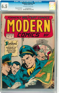 Golden Age (1938-1955):War, Modern Comics #46 (Quality, 1946) CGC FN+ 6.5 Off-white to whitepages....