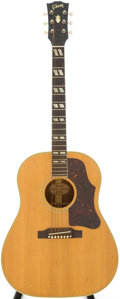 Musical Instruments:Acoustic Guitars, 1961 Gibson Country Western Natural Acoustic Guitar, Serial #40002....