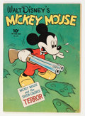 Golden Age (1938-1955):Cartoon Character, Four Color #27 Mickey Mouse (Dell, 1943) Condition: ApparentVG+....