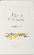 Books:Horror & Supernatural, Stephen King. SIGNED/LIMITED. Dolan's Cadillac. Lord JohnPress, 1989. Limited to 1000 numbered and signed copies....