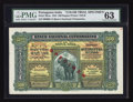 World Paper Money: , Portuguese India Banco Nacional Ultramarino 500 Rupias 1.1.1924 Pick 30cts Jhunjhunwalla-Razack 12.20.1 Color Trial Specime...