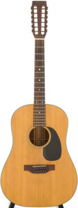 Musical Instruments:Acoustic Guitars, 1971 Martin D-12-20 Natural Acoustic Guitar, Serial # 283213....