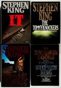 Books:Horror & Supernatural, Stephen King. Group of Four First Edition Books. 1985-1991. Nearfine.... (Total: 4 Items)