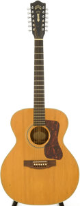 Musical Instruments:Acoustic Guitars, 1966 Guild F-212XL Natural 12 String Acoustic Guitar, Serial # AE517....