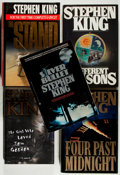 Books:Horror & Supernatural, Stephen King. Group of Five First Edition Books. 1982-1999. Nearfine.... (Total: 5 Items)