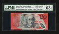 World Paper Money: , Australia Reserve Bank 20 Dollars ND (1994-1996) Pick 53s McDS32 ....