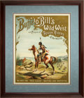 Antiques:Posters & Prints, White Eagle and Red Cloud: A Choice Matched Pair of What ArePerhaps the Most Esteemed Buffalo Bill's Wild West Posters. ...(Total: 2 Items)