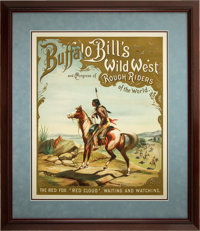 White Eagle and Red Cloud: A Choice Matched Pair of What Are Perhaps the Most Esteemed Buffalo Bill's Wild West Posters