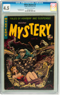 Golden Age (1938-1955):Horror, Mister Mystery #7 (Aragon, 1952) CGC VG+ 4.5 Off-white to whitepages....