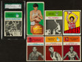 Basketball Cards:Lots, 1960's-1970's Basketball HoFers Card Collection (7) - Almost All Rookie Cards. ...
