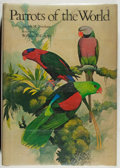 Books:Natural History Books & Prints, William T. Cooper [illustrator]. Joseph M. Forshaw. Parrots of the World. Doubleday, 1973. Folio. Very good....