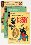 Silver Age (1956-1969):Cartoon Character, Mickey Mouse File Copies Group (Gold Key, 1962-80) Condition: Average VF/NM.... (Total: 39 Comic Books)