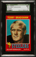 Football Cards:Singles (1970-Now), 1971 Topps Terry Bradshaw #156 Rookie SGC 60 EX 5....