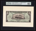 Canadian Currency: , Roseau, Dominica- The Royal Bank of Canada $5 (£1-0-10) January 2,1920 Ch. # 630-42-02FP/BP Face/Back Proofs. ... (Total: 2 notes)