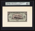 Canadian Currency: , Port of Spain, Trinidad- The Royal Bank of Canada $5 (£1-0-10)January 3, 1938 Ch. # 630-68-02FP/BP Face/Back Proofs. ... (Total:2 notes)