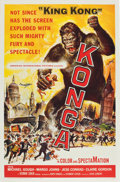 "Movie Posters:Science Fiction, Konga (American International, 1961). One Sheet (27"" X 41"").. ..."