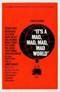 "Movie Posters:Comedy, It's a Mad, Mad, Mad, Mad World (United Artists, 1963). One Sheet(27"" X 41"") Style B.. ..."