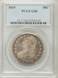 Bust Half Dollars: , 1819 50C Good 6 PCGS. PCGS Population (5/435). NGC Census: (5/381).Mintage: 2,208,000. Numismedia Wsl. Price for problem f...