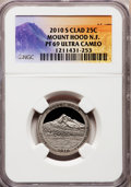 2010-S 25C Mount Hood National Forest Clad PR69 Ultra Cameo NGC 2010-S 25C Grand Canyon National Park Clad PR69 Ultra Ca...