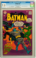Silver Age (1956-1969):Superhero, Batman #197 (DC, 1967) CGC VF- 7.5 Off-white to white pages....
