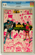 Silver Age (1956-1969):Superhero, Batman #200 (DC, 1968) CGC VF- 7.5 Off-white to white pages....